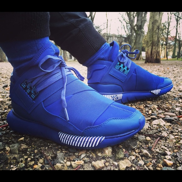 Adidas Y3 Qasa High Royal Blue. M 5b3c1fd8de6f62b5a719ce47 b66200434